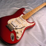 Candy Apple Red 2001 Fender USA Stratocaster