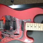 2010 Mint Turboized Red Satin Fender Stratocaster