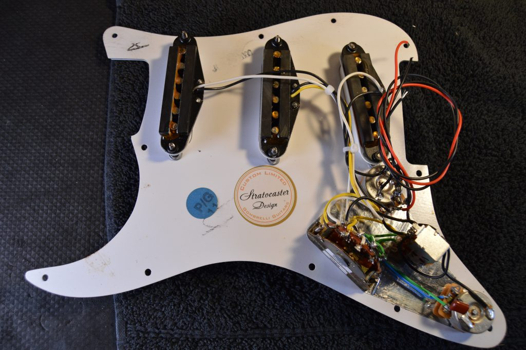 How To Identify Fender Pickups, Fender Mexican Strat Hss Wiring Diagram